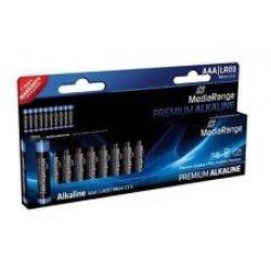 Pilhas Mediarange Alcalinas LR3 (AAA) - Pack 10